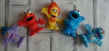 Furchester Hotel Plastic Characters Figures Set of 5 Elmo Cookie Monster Etc