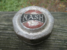 NASH ALUMINUM GREASE CAP WHEEL CENTER CAP HUBCAP 2 3/4""