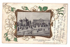 Indiana postcard Marion Normal College ca 1909