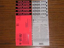 Funny Rude 10 Pack Phoney Fake Police Parking Tickets Joke Gag Prank