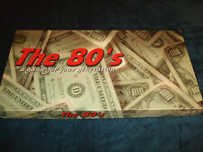 THE 80:S  REAL ESTATE TRADING GAME- A GAME FOR YOUR GENERATION--MONOPOLY