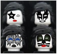 Kiss # 10 - 8 x 10 Tee Shirt Iron On Transfer Lego