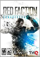 NEW! Red Faction Armageddon for PC XP/VISTA/7 SEALED NEW