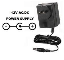 12 VOLT 2000 MA AC/DC POWER SUPPLY ADAPTER 12V 2.1 POSITIVE CENTER/TIP 240V AUS