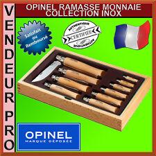OPINEL COFFRET CADEAU RAMASSE MONNAIE 10 COUTEAUX INOX N2 A N12 / 951