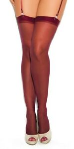 fashion NWT sexy ELEGANT MOMENTS sheer THIGH highs HI stockings PANTYHOSE nylons