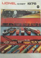 LIONEL 0/027 1976 TRAIN RAILROAD TOY CATALOG