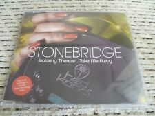 "StoneBridge ""Take Me Away"" Enhanced UK CD Single (2005) Ft. Therese, D-Bop"