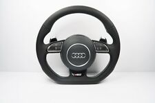 AUDI S LINE A6 A7 A8 S6 S7 S8 RS6 RS7 STEERING WHEEL FLAT BOTTON 1140