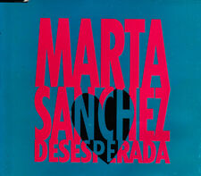 MARTA SANCHEZ - DESESPERADA CD SINGLE PROMO 1 TRACK SPAIN 1993 EXCELLENT CONDITI