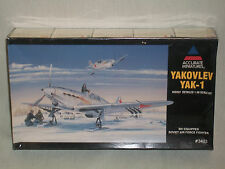 Accurate Miniatures 1/48 Scale Russian Yakovlev Yak-1  -  Factory Sealed