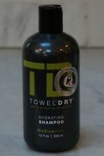 12 oz. TD Towel Dry Men's Grooming Hydrating Shampoo. Medium Hair. 365ml. NEW.