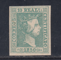 SPAIN (1850) - MINT - Sc# 5 - EDIFIL 5 (10 r) FORGERY - LOT 5