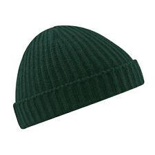 Stylish Beanie Hat Warm Ribbed Winter Turn  Ski Unisex Fisherman Docker Hat