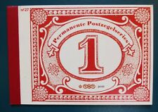Prestige Boekje 27 PR27 Dag van de Postzegel 2009 Booklet MNH