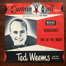 "Ted Weems Heartaches / Out of the Night Curtain Call Series 10"" Record 78 Decca"