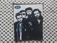 U2 Backpatch jeans jacket/unofficial italian concert merchandise/bono vox/rock