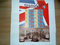 GREAT BRITAIN: 2004  Generic Sheet  Autumn Stampex 1st Class U/M  ST3