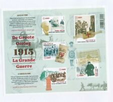 D146450(1) Belgium Imperforate S/S MNH The Great War WW I