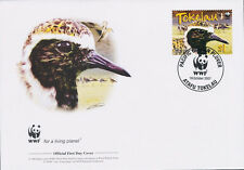 WWF  UCCELLI  FDC TOKELAU BUSTA PRIMO GIORNO 2007 UCCELLI  1/4