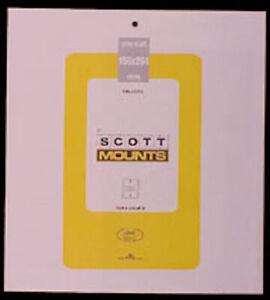 Scott/Prinz Pre-Cut Souvenir Sheets Small Panes Stamp Mounts 156x264 #1003 Black