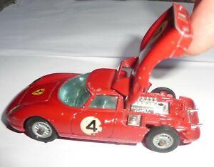 1960's Corgi Toys Diecast Ferrari Berlinetta 250 Le Mans No.314