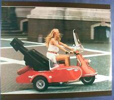 Älteres Blechschild Oldtimer Heinkel Motorroller gebraucht used
