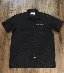 Dickies Social Distortion Button Up Workwear Shirt