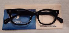 Vintage Univis Jim Black 44/20 Men's Eyeglass Frame New Old Stock