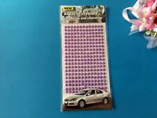 Adesivo ADESIVI PERLA piatto 375 x 5 mm carte fatte a mano inviti di nozze RS117