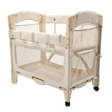 Co-Sleeper Bedside Bassinet by Arm's Reach with Leg Extension Kit