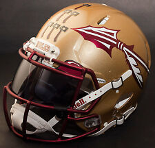 *CUSTOM* FLORIDA STATE SEMINOLES Riddell SPEED Full Size Replica Football Helmet