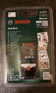BOSCH PLR 50C, LASER ENTFERNUNGSMESSER      0,5 - 5m mit Schutztasche. NEU & OVP