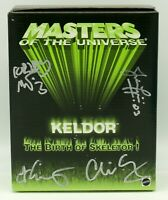 Keldor Birth of Skeletor MASTERS OF THE UNIVERSE Classics SIGNED by 4 Horsemen