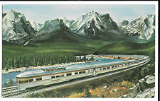 Canadian Pacific Scenic-Dome PPC Unposted P5957 Railway Postcard Rolling Stock