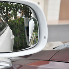1 Set Car HD Blind Spot Mirrors Side Rear View Convex 360 Wide Angle New