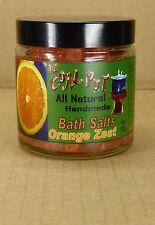 113gr. Orange Zest  Badesalz all natural handmade von The Coal Pot aus Dominica