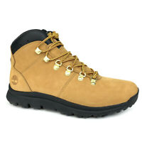 Timberland Men's World Hiker Wheat Nubuck Mid Hiker Boots A2169