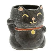 1x Japanese Lucky Black Cat  Mug #113-091