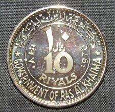 Ras Al Khaimah 1970 10 Riyals Proof Dwight Eisenhower
