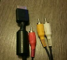 Official Sony Playstation 1 2 3 AV Cable Lead GWC Free Postage