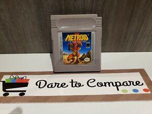 Metroid II 2 Return of Samus (Nintendo Game Boy GB GameBoy, 1991)