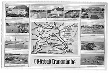 Ak, ostseebad travemünde, once Fig. y mapa del APTR para 1957