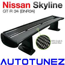 Carbon Fiber Spoiler Wing For Nissan Skyline GTR R34 R32 BNR34 Car Down Force AT