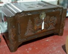 More details for oriental /chinese camphor wood chest / trunk measuring 103cm x 56cm  x 53cm