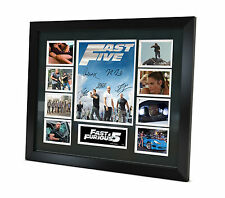 Fast and Furious 5 Signed Photo Movie Memorabilia Limited Edition