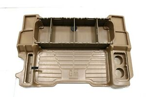 NEW OEM GM Rear Cargo Area Organizer Tray Oak 12497984 Trailblazer Envoy 2002-09