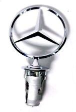 Mercedes Hood Star Ornament w/ Spring New OE W123 W124 W126 Sedan W201