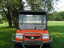 Kubota RTV 900 2 Pc Vented Windshield-GOOD-FREE SHIPPING!
