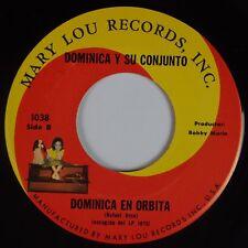 "DOMINICA & SU CONJUNTO: En Orbita MARY LOU Latin 7"" 45 NM- Hear"